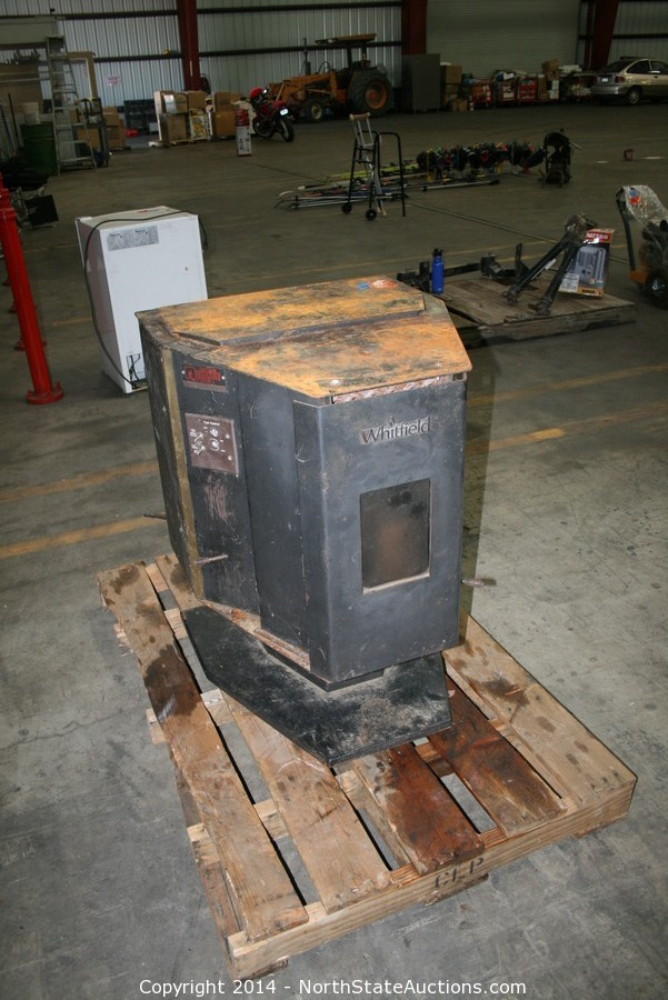North State Auctions Auction February Auction Dance Item Whitfield Pellet Stove