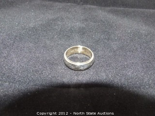 14k 2-Tone Wedding Band