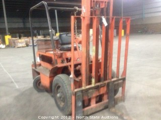 BB Rough Terrain Forklift 4000lb Capacity.