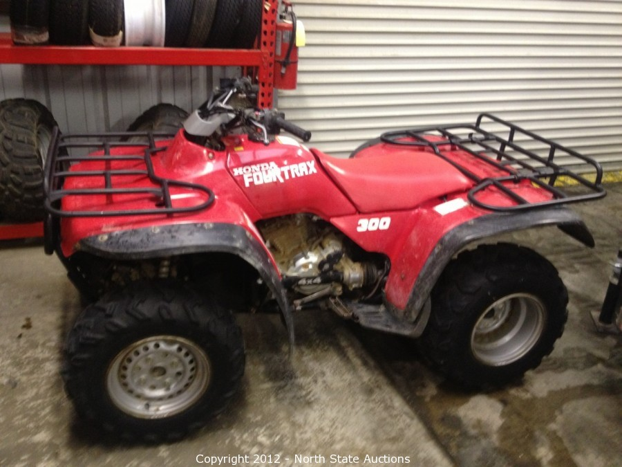 north state auctions auction motorcycle extravaganza item 1991 honda fourtrax 300 4x4 trx300fw. Black Bedroom Furniture Sets. Home Design Ideas