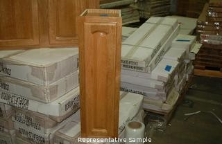 Oak Wall Cabinet - 9 inch & North State Auctions - Auction: DAY 2 Chico Kitchen and Bath Cabinet ...
