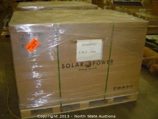 Approx 20 Solar Power Inc. Solar Module Panels, 205 Watt