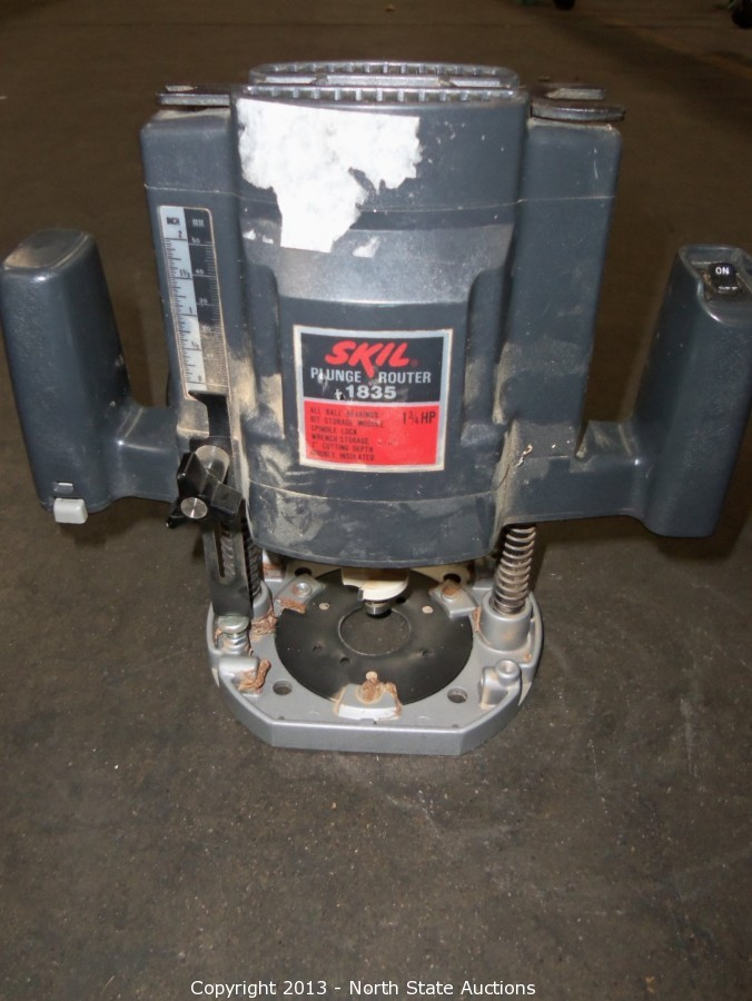 North State Auctions Auction February Frenzy An Online Auction Event Item Skil Plunge Router Model 1835
