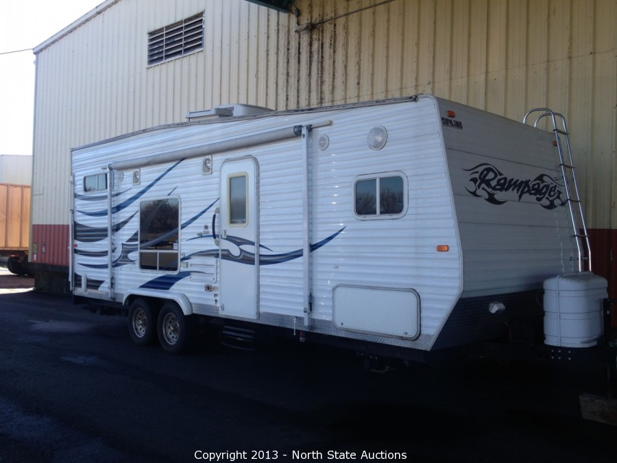 North State Auctions Auction Big Ross Travel Trailer