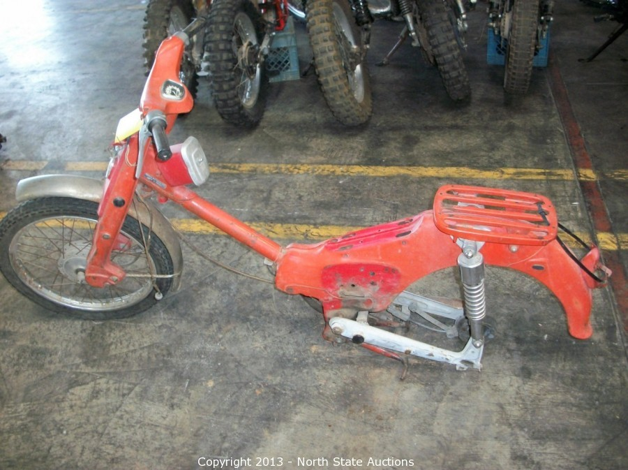 North State Auctions Auction Honda Shop Motorcycle Basement