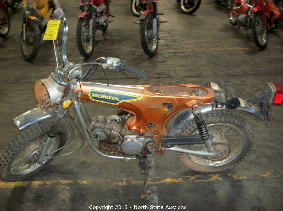 North State Auctions - Auction: Honda Shop Motorcycle ...