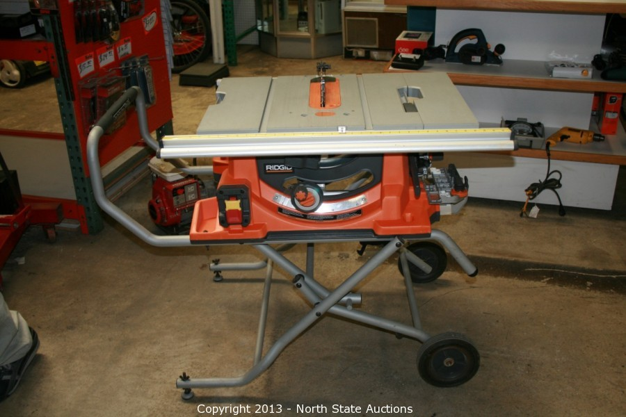 North state auctions auction fathers day frenzy premium item north state auctions auction fathers day frenzy premium item auction item ridgid portable table saw model r4510 7779 greentooth Images