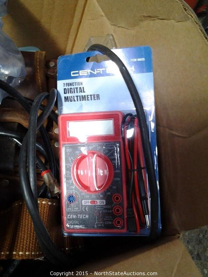Cen Tech Digital Clamp Meter Mini : North state auctions auction may estate