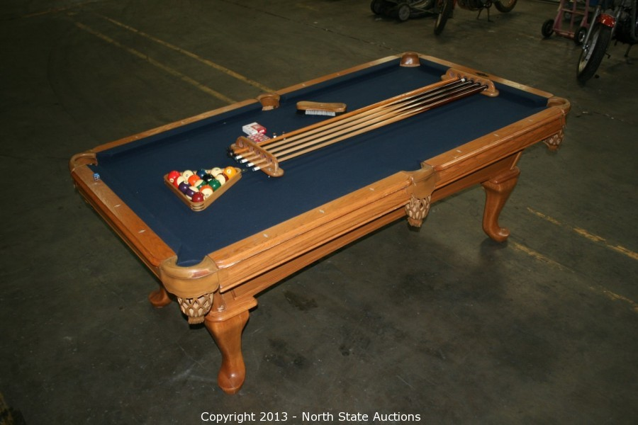 North State Auctions Auction Fathers Day Frenzy Premium Item - Amf playmaster pool table
