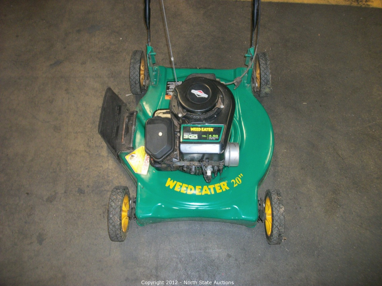 weed eater lawn tractor. mid summer auction madness! weed eater lawn tractor