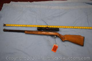 Marlin 22L.R Cal Rifle With Scope