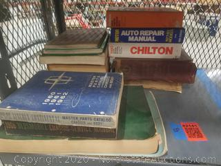 Lot of Vintage Auto Manuals