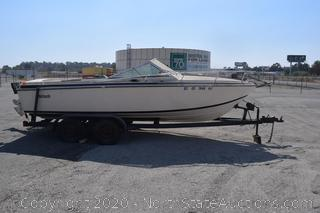 1978 Wellcraft Boat and Trailer