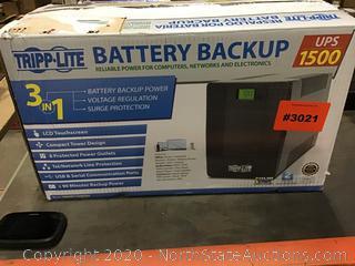 Tripp-Lite Battery Backup