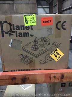 Planet Flame Heat Transfer Press