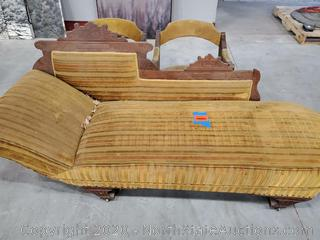 Antique/Vintage Chaise Lounge and Chairs