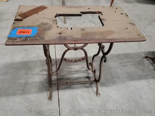 Antique Wilson Sewing Machine Stand