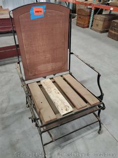 Antique Reclining Chair