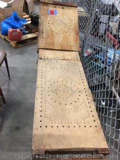 Antique Mortician Table