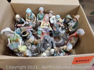 Lot Of People Figurines