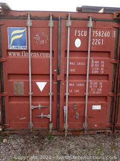 20 Foot Cargo Container (A)