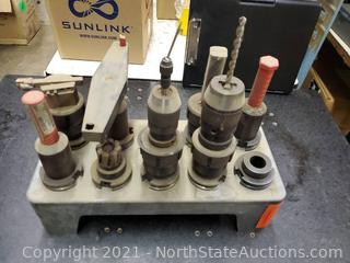 Lot Of Collets with Tooling (A)