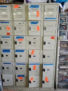 Lockers With Contents (19-36) (A)