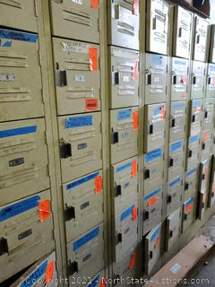 Lockers With Contents (91-108) (A)