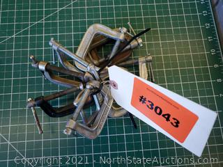 Lot Of Sm C Clamps (A)
