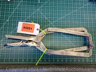 Lot Of Lockjaw Clamps (A)