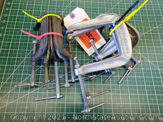 Lot Of Clamps (A)