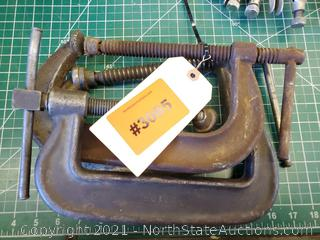 Lot Of C Clamps (A)