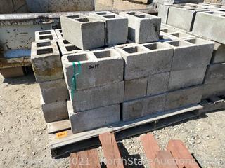 Lot Of Cinder Blocks