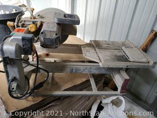 """Chicago Electric Power Tools 10"""" Industrial Tile/Brick Saw"""