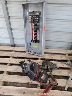 Lor of Electrical Panel And Tools