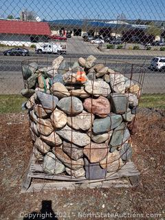 Lot of Landscaping Rocks