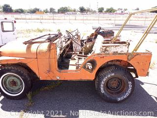 1951 to 1968 M38A1 Military Jeep