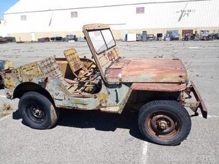 1950-1952 M38 Military Jeep