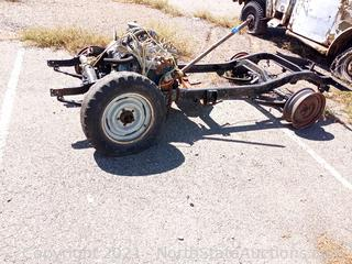 Cj2 or M38 Jeep Frame With Motor