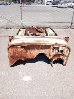 CJ7 or CJ5 Jeep Body Tub