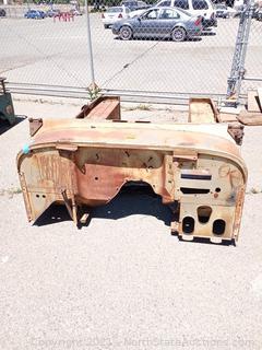CJ 7 or CJ5 Jeep Body Tub
