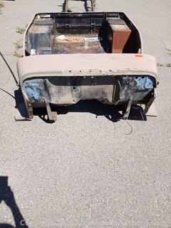 CJ2 Jeep Body Tub