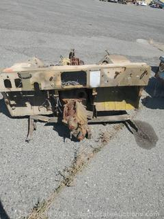 M151 Kaiser Jeep  Front end