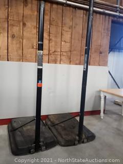 Basketball Hoop Stands