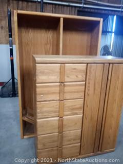 Lot of Oak Furniture