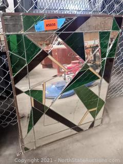 Mirror/Colored Glass