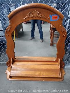 Dresser Mirror Hutch