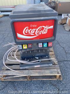 Commercial Fountain Soda Machine