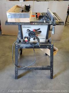 """Central Machinery 10"""" Table Saw"""