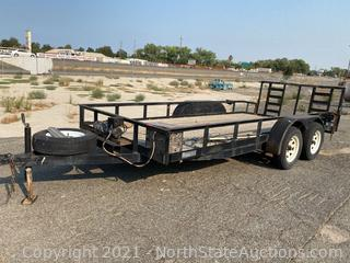 Utility Trailer with Winch